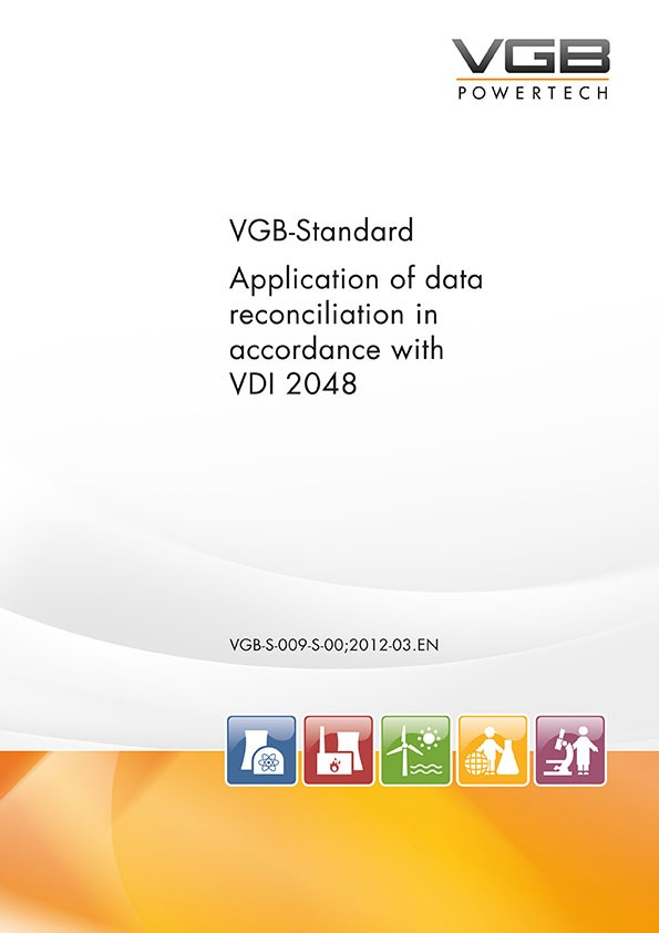 Application of data reconciliation in accordance with VDI 2048
