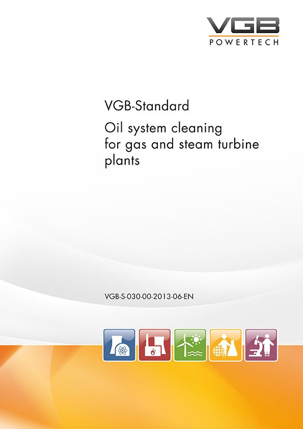 Oil system cleaning for gas and steam turbine plants