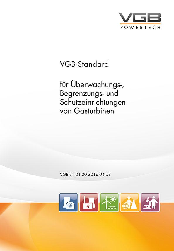 VGB-Standard für Überwachungs-, Begrenzungs- und Schutzeinrichtungen von Gasturbinen - eBook