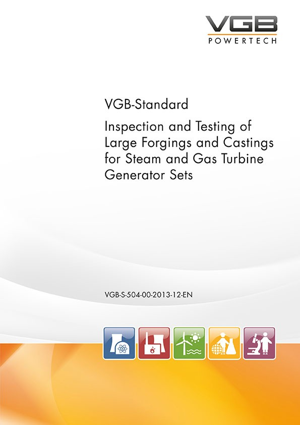 Inspection and Testing of Large Forgings and Castings for Steam and Gas Turbine Generator Sets - eBook