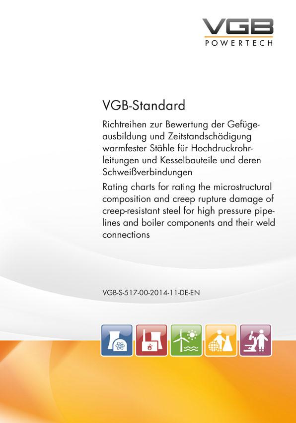 Richtreihen zur Bewertung der Gefügeausbildung und Zeitstandschädigung warmfester Stähle für Hochdruckrohrleitungen und Kesselbauteile und deren Schweißverbindungen
