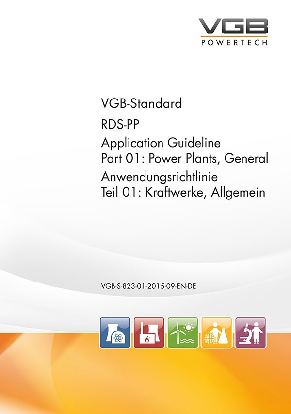 RDS-PP® Anwendungsrichtlinie Teil 01: Kraftwerke, Allgemein    RDS-PP Application Guideline Part 01: Power Plants, General - eBook
