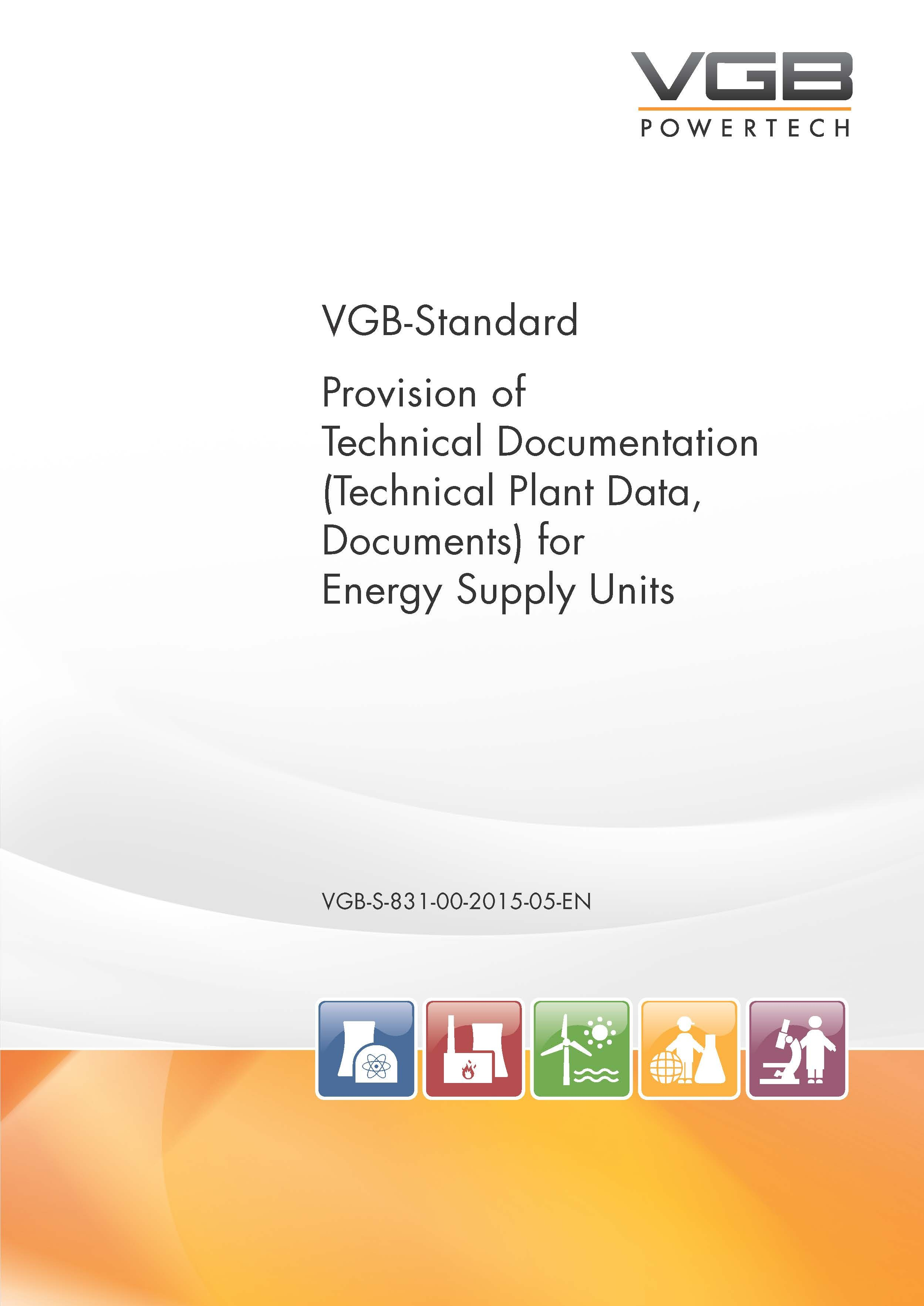 Provision of Technical Documentation (Technical Plant Data, Documents) for Energy Supply Units
