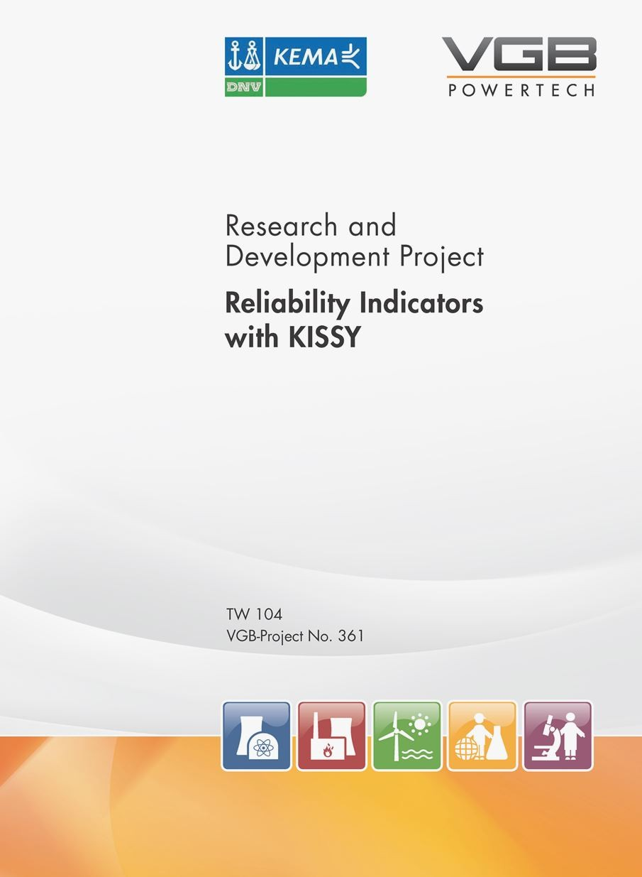 Reliability Indicators with KISSY - VGB Research Project 361 (only PDF-download)