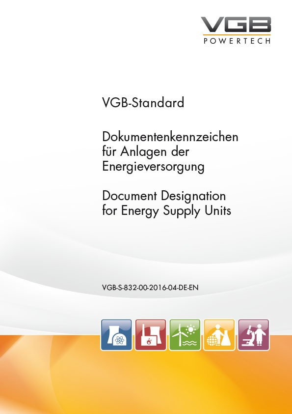 Dokumentenkennzeichen für Anlagen der Energieversorgung - Document Designation for Energy Supply Units - eBook