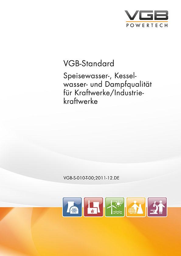 VGB-S-010-T-00;2011-12.DE-ebook: Speisewasser-, Kesselwasser- und ...