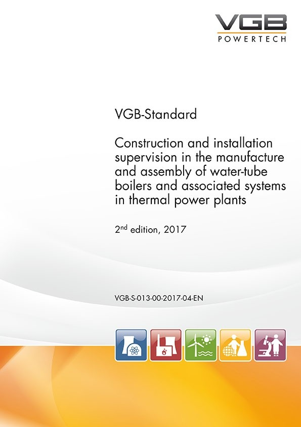 Construction and installation supervision in the manufacture and assembly of water-tube boilers and associated systems in thermal power plants