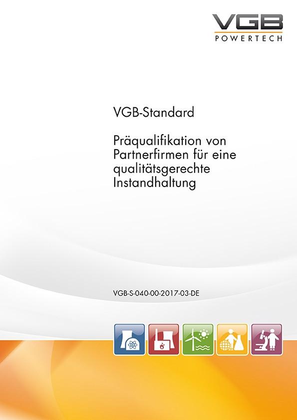 Präqualifikation von  Partnerfirmen für eine  qualitätsgerechte  Instandhaltung