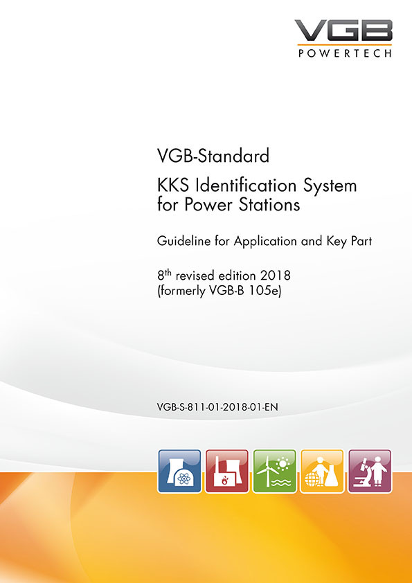KKS Identification System for Power Stations - 8th revised edition 2018 - print
