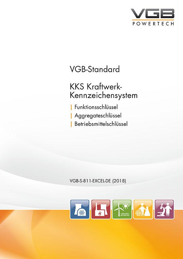 KKS Kraftwerk-Kennzeichensystem - 8. überarbeitete Ausgabe 2018 - Excel-Liste