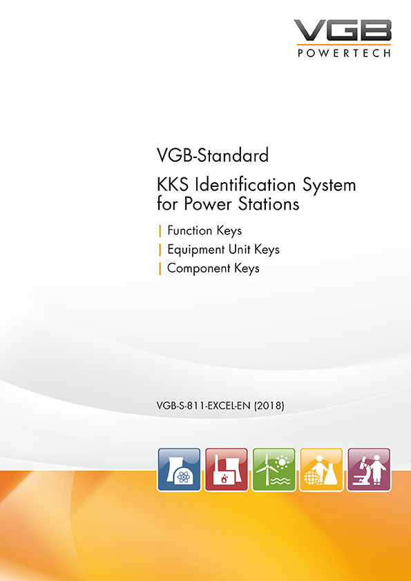 KKS Identification System for Power Stations - 8th revised edition 2018 - Excel-table