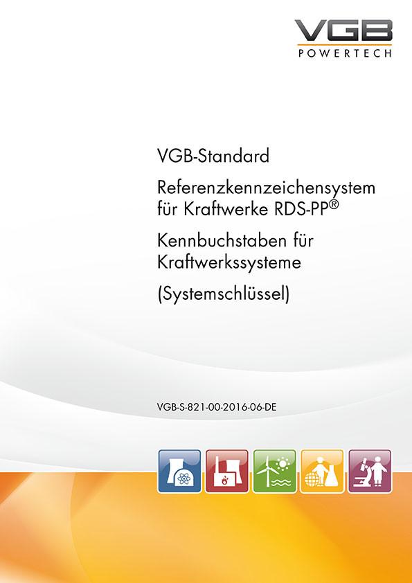 RDS-PP® Referenzkennzeichensystem für Kraftwerke - Kennbuchstaben für Kraftwerkssysteme (Systemschlüssel) - Print