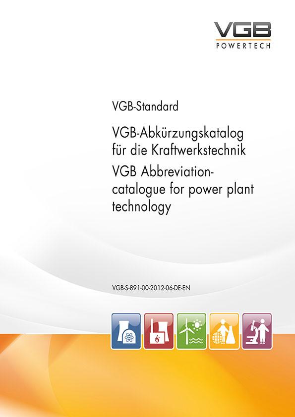 VGB-Abkürzungskatalog für die Kraftwerkstechnik [Print]