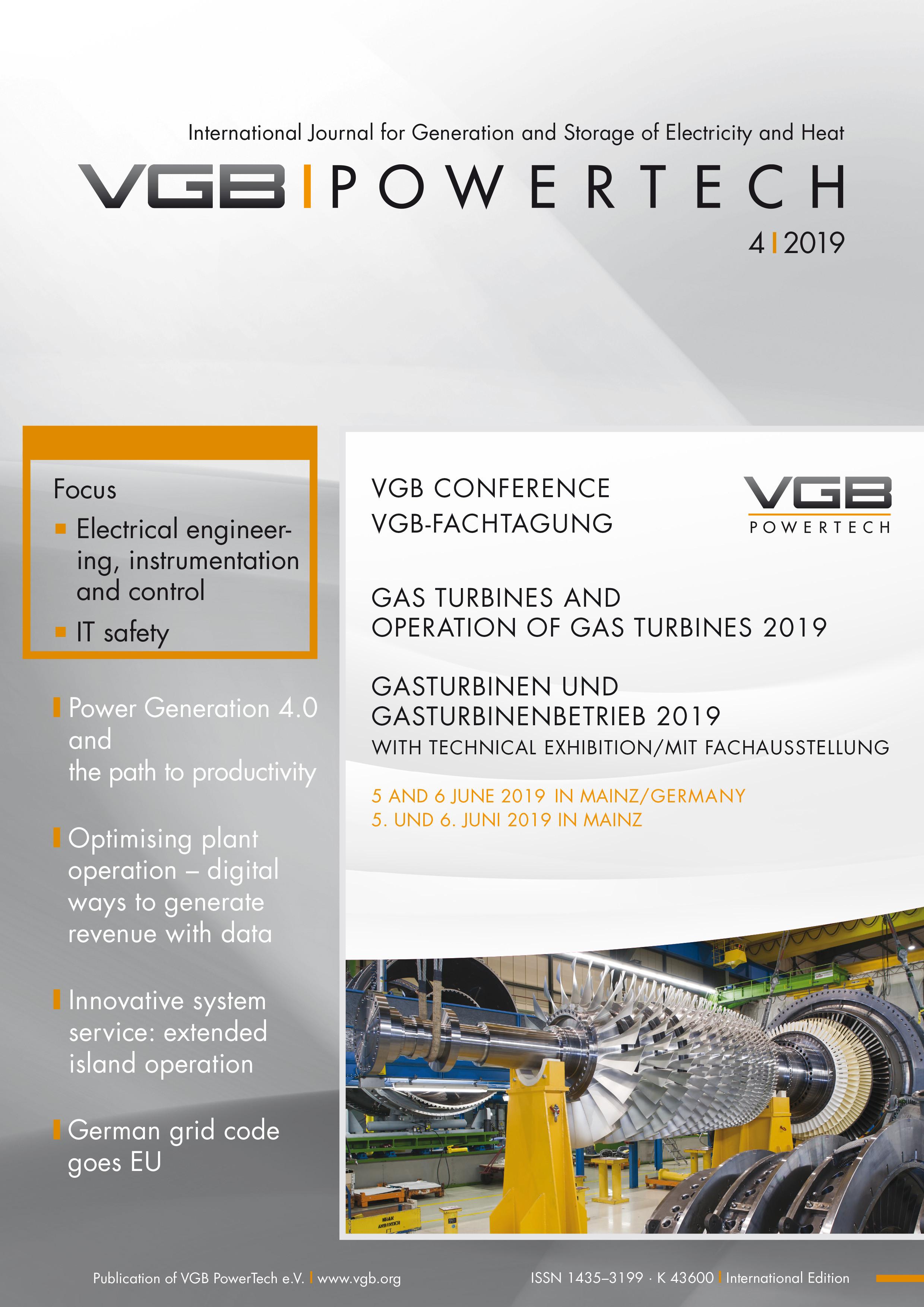 VGB POWERTECH - Aktuelle und frühere Einzelausgaben