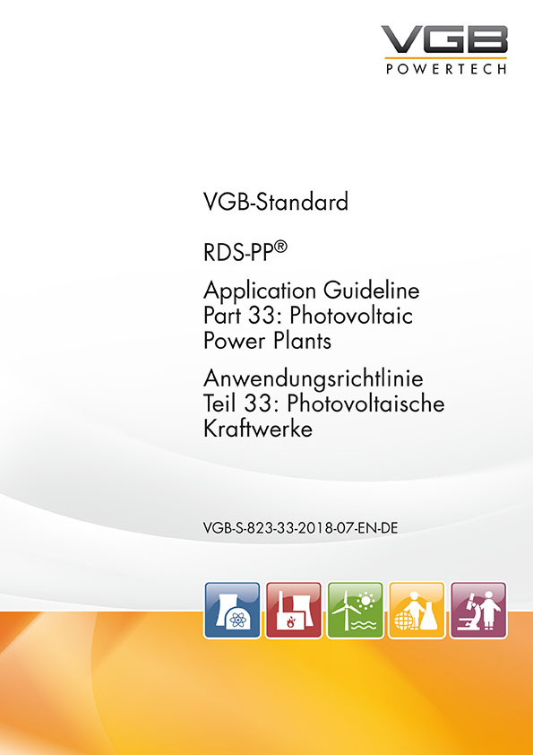 RDS-PP® Anwendungsrichtlinie Teil 33: Photovoltaische Kraftwerke;  Application Guideline Part 33: Photovoltaic Power Plants