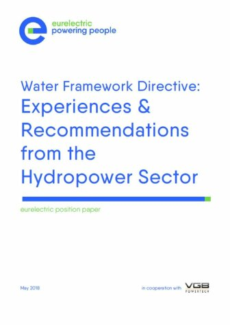 Strategic Research Agenda of the EERA Joint Programme Hydropower