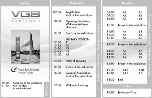 VGB Congress 2015 - Programme Overview